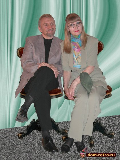 Фотографии ретро-дуэта Карауловы